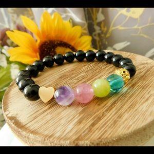 Personalized Mother Children Crystal Bracelet
